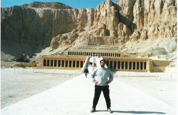 Ägypten Luxor Hatschepsu Tempel