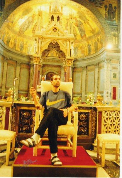 Vatikan St. Pauls Stuhl vom Papst