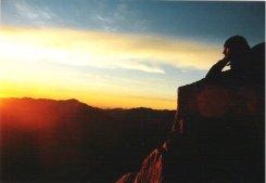 Ägypten Sinai Moses Berg on the top