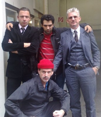 Jacques Palminger, Rocko Schamoni und Heinz Strunk Studio Braun - Striftsteller und Moderation
