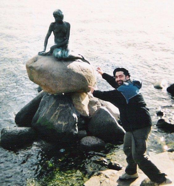 Dänemark Kopenhagen Meerjungfrau