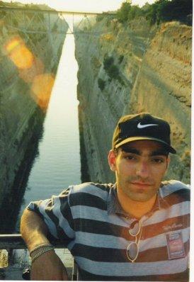 Griechenland Kanal von Korinth