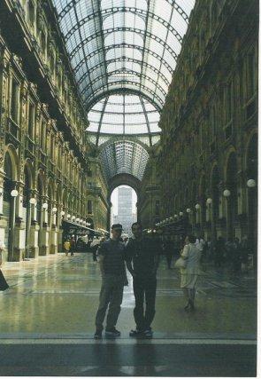 Italien Mailand Galleria Vittorio Emanuele II