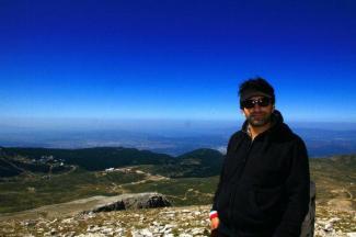 Türkei - Bursa Uludag Bergspitze
