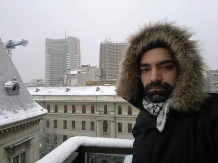 Bucaresti Rumänien Hotel K&K mit Blick auf das Interkontinental