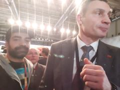 Vitali Klitschko Boxer / Politiker Bürgermeister von Kiew
